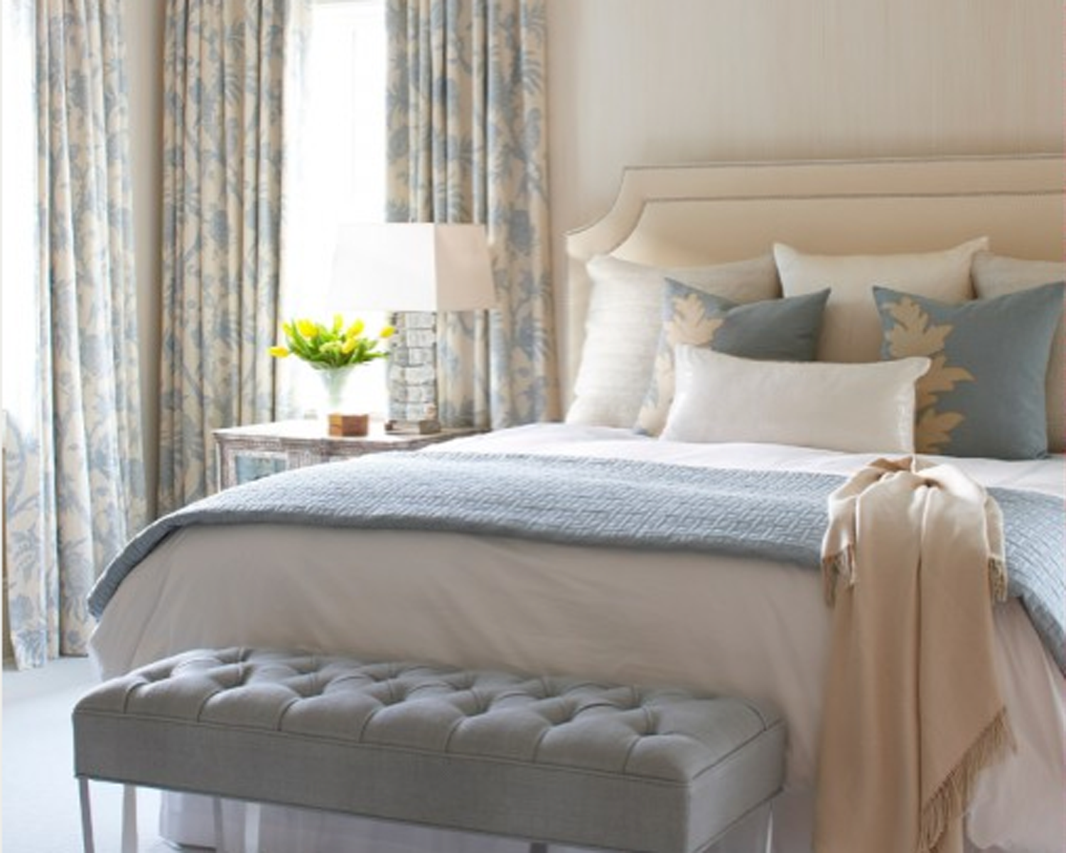 Decor: Blue Bedroom  The Occasional Affair
